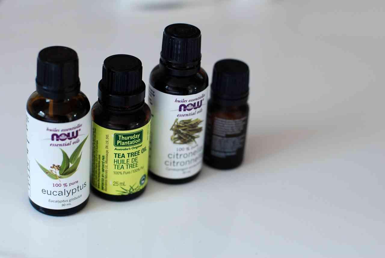 Aceites esenciales para cabello dañado